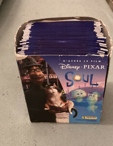 Panini Disney Pixar Soul Sticker Packs Full Box 50 Packs Sealed Uk Item