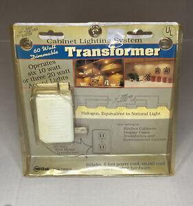 60 Watt Dimmable Transformer - Cabinet Lighting System(six 10 watt or 3 20 watt)