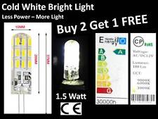 G4 24 LED Corn Capsule AD/DC 12V Cold White Light Bulb Halogen Lamp Car Boat