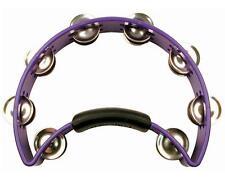 Rhythm Tech RT1080 Original Tambourine w/ Nickel Jingles, Purple
