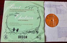 DECCA LXT 2860 BIZET JEUX D'ENFANTS LP LINDENBERG EX++ (1953) MONO ENGLAND GOLD