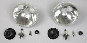 Headlight Retrofitting For Dodge D100 Yr 57-80 Us-Modelle On Eu-Standard For Tüv