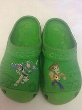 Crocs - colore verde con disegno Toy Story - N° 10 c 11 - 18,5 cm circa - USATI