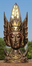 Edle Sita Stand Maske Feng Shui Afrika Gold Rama Buddha Maske54