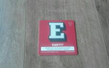 Tennents Lager E - Empty - Beermat - New