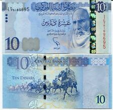 Libya - 10 Dinars - 2015 issue - new design - UNC Currency Note