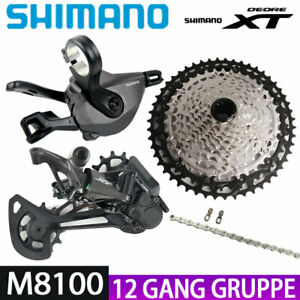Shimano Deore XT M8100 Shifter Schaltwerk Kette 10-51T Kassetten 12-fach Gruppe
