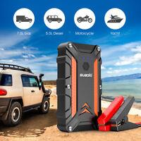 Suaoki 12000mAh Peak Car Jump Starter Vehicle Power Bank Booster Battery Charger