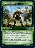PREORDER Garruk's Uprising, SHOWCASE, Core Set 2021 M21, MTG, NM/M