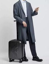 Emporio Armani ABS Empossed Logo Stylish Suitcase