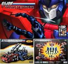 Transformers TFC Toys Supreme Tactical Commander / Gi Joe Rolling Thunder Prime