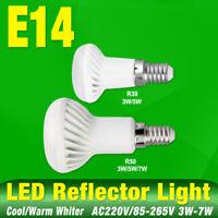 R39 R50 AMPOULE DE SPOT E14 RÉFLECTEUR LAMPE À LED BLANC FROID/BLANC CHAUD 75CF