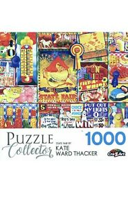 Puzzle Collector - State Fair 1000 Piece Jigsaw Puzzle by Kate Ward Thacker