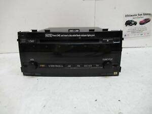 TOYOTA PRIUS RADIO/CD/ FACTORY, RADIO/CD PLAYER, NHW20R, 10/03-05/09 0