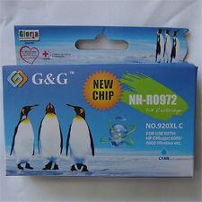 CYAN Reman INK Cartridge For HP Officejet 6500 wireless 7500A CD972AN #920XL