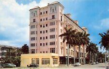 Bradenton Florida 1950s Postcard Manatee River Hotel
