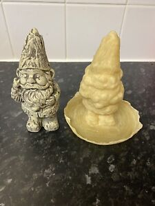 Latex Mould To Make This Cute Garden Gnome Ornament. Indoor Or Outdoor