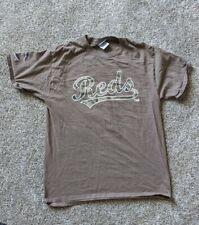 Cincinnati Reds Baseball Joey Votto Shirt Medium Camouflage Brown 19 Tee T Shirt