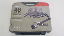 New Matco Silver Eagle 46 Piece Socket Bit Driver Set with Case 1/4 3/8 SBS46SE