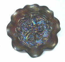 Purple Carnival Glass