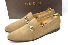 GUCCI Loafer horse bit Italy UK9.5 / US10 / 43.5 shoes 260527 mocca mens suede