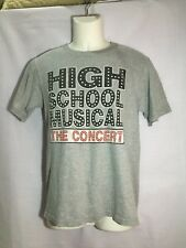 DISNEY HIGH SCHOOL MUSICAL THE CONCERT 06-07 USA TOUR ZAC EFRON T SHIRT SIZE S