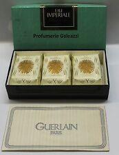GUERLAIN EAU IMPERIALE 3 PERFUMED SOAPS N.309 - 3 X 100 g