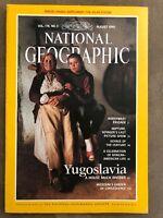 National Geographic Magazine - August 1990 - Yugoslavia- No Portrait Family