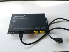 SurgeX SA-82 FlatPak Surge Eliminator Protector 2-Outlets 120V 8A