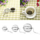 Stainless Steel Tea Infuser Ball Mesh Loose Leaf Strainer Filter Spice Holder