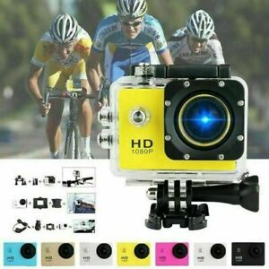 1080P Ultra HD Sport Action Camera DVR DV Helmet Cam Waterproof Video Camcorder