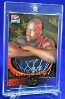 SHAQUILLE O'NEAL SP UPPER DECK USA GOLD DIE CUT RARE SP ORLANDO MAGIC