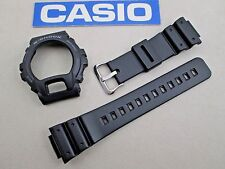 Genuine Casio G-Shock G-6900 GW-6900 watch band and case cover bezel set black