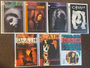 7 Death The High Cost of Living 1,2,3 Time of Your Life #1,2,3 DC Gaiman Sandman