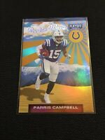 2019 Panini Playoff Rookie Wave RC Parris Campbell Indianapolis Colts