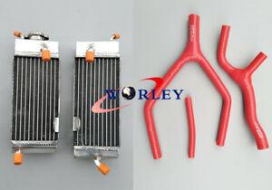 FOR Yamaha YZ125 YZ 125 1989 1990 1991 1992 89 90 91 92 aluminum radiator+hose