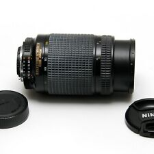 Nikon ED AF Nikkor 70-300mm f/4 to 5.6 Telephoto Zoom Lens in Good Condition