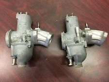 Amal Carborators - 932/27 - Left and Right with intake manifolds