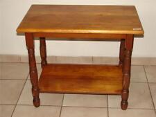 Antique Moosehead Side Table