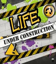 Magnet  Life Under Construction Magnetic Greeting Card