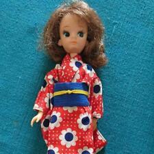 Takara 1st Generation Licca Rika chan with kimono dress used Japan