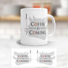 Tasse 'Coffee is Coming' - GAME OF THRONES - Becher - Kaffeetasse - GOT Fan