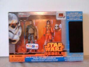 "Star Wars Rebels 2 Pack 3.75"" Figure Set with Secret Figure Toys R us Exclusive"