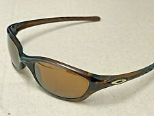 Vintage Oakley Five V Fives Rootbeer Sunglasses Gold Icon