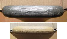 6 St Griffe grau/metallic beige/holz Schrank-Griff Schublade Möbelgriff Türknauf