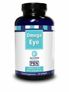 PRN Omega Eye - Omega 3 Vitamin D3 Nutritional Supplement (120 Softgels)