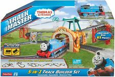 Thomas Friends TrackMaster Motorized Train Railway 5 In 1 Track Set 65+ piece A4
