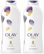 Olay Age Defying Body Wash with Vitamin E B3 Complex Value Size 22 fl oz 2 Pack