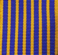 AUSTRALIA ARMY NAVY AIR FORCE EMERGENCY LONG SERVICE NATIONAL MEDAL RIBBON