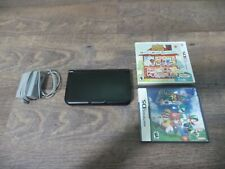 Nintendo 3DS XL Gray/Black Console With Charger And Games, Animal Crossing, More